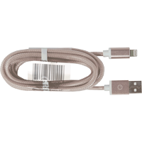 Cover Image For Indico USB-A to Lightning Iridescent Cable: Pink 1.5m