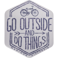 Image For Blue 84 Go Outside and Do Things Decal