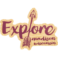 Image For Blue 84 Explore Madison Wisconsin Decal