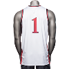 Cover Image for Under Armour Wisconsin Retro Basketball Jersey (White) *
