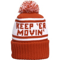 Image For Manitowoc Minute Keep'er Movin' Knit Beanie (Red/White)