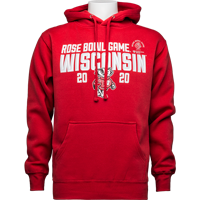 Image For 2020 Rose Bowl Game Top Promotions Hood Sweatshirt (Red)3X *