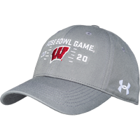 Image For 2020 Rose Bowl Game UA Hat (Charcoal)