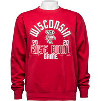 Image For 2020 Rose Bowl Game Blue 84 Crew Neck Sweatshirt(Red)3X *