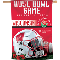 Image For 2020 Rose Bowl Game WinCraft Flag