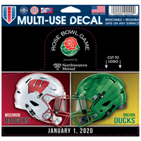 Image For 2020 Rose Bowl Game WinCraft Dueling Decal