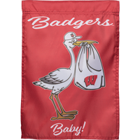 Image For Sewing Concepts Baby Badger Garden Flag