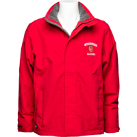 Image For Land's End Outfitters Wisconsin Alumni Men's Jacket (Red)