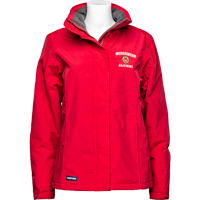 Image For Lands' End Outfitters WI Alumni Women's Jacket (Red)