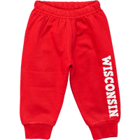 Cover Image For Creative Knitwear Infant/Toddler WI Joggers (Red)