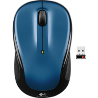 Image For Logitech M325 Wireless Mouse-Blue