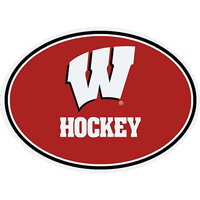 Image For CDI Corp Wisconsin Hockey Magnet