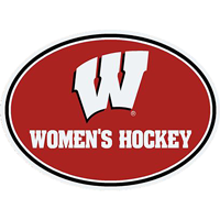 Image For CDI Corp Wisconsin Women's Hockey Magnet