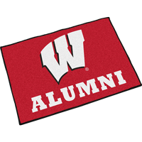 Cover Image For Fanmats Wisconsin Alumni Door Mat