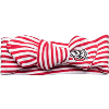 Image for Creative Knitwear Wisconsin Hair Knot Headband (Red/White)