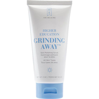 Cover Image For Higher Education Grinding Away Skin Polishing Scrub