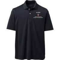 Image For Lands' End Outfitters WI Pharmacy Alumni Polo (Black)