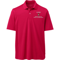 Image For Lands' End Outfitters WI Pharmacy Alumni Polo (Red)
