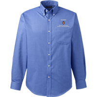 Image For Lands' End Outfitters WI Pharmacy Alumni Button Down (Blue)