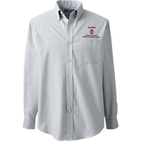 Image For Lands' End Outfitters WI Pharmacy Alumni Button Down (Gray)