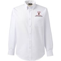 Image For Lands' End Outfitters WI Pharmacy Alumni Button Down (White)