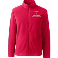 Image For Lands' End Outfitters WI Pharmacy Alumni Full Zip (Red)