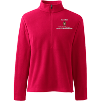 Image For Lands' End Outfitters WI Pharmacy Alumni ½ Zip (Red)