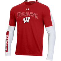 Image For Under Armour 2020 Wisconsin Basketball Shooter Shirt *