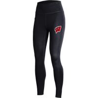 Image For Under Armour Women's Wisconsin Leggings (Black) *