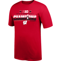 Image For 2020 Top of the World Big10 Champions Locker Room Tee (Red)*