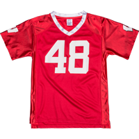 Image For BSC Youth WI Football Jersey (Red) *