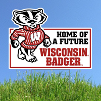 Image For CDI Future Badger Lawn Sign