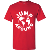Image For Top Promotions Jump Around Earth T-Shirt (Red) *