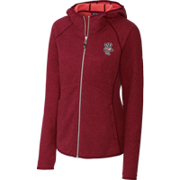 Image For Cutter & Buck WI Women's Mainsail Hooded Jacket (Red)
