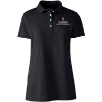 Image For Lands' End Outfitters SMPH WI Women's Polo (Blk)