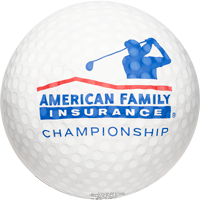 Image For AmFam Insurance Championship Inflatable Golf Ball