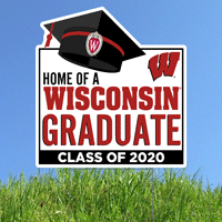 Image For CDI Corp WI Graduate 2020 Lawnee Sign