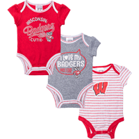 Image For BSC Wisconsin Infant Onesie Set *