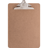 Image For Bazic Products Letter Size Hardboard Clipboard