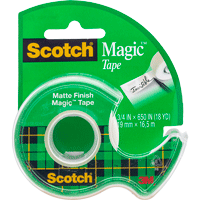 Cover Image For Scotch Magic Tape (.75 Inch)