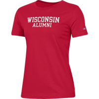Image For Champion Women's WI Alumni T-Shirt (Red)