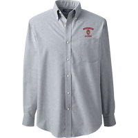 Image For Lands' End Outfitters WI Alumni Button Down (Gray)