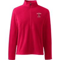 Image For Lands' End Outfitters WI Alumni ½ Zip (Red)
