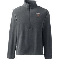 Image For Lands' End Outfitters WI Alumni ½ Zip (Gray)