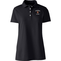 Image For Lands' End Outfitters WI Alumni Women's Polo (Blk)