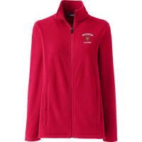 Image For Lands' End Outfitters WI Alumni Women's Full Zip (Red)