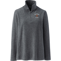 Image For Lands' End Outfitters WI Alumni Women's ¼ Zip (Gray)