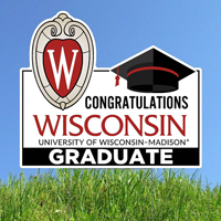 Image For CDI Congratulations Wisconsin Lawnee Sign