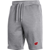 Image For Under Armour WI All Day Fleece Shorts (Gray) *