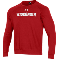 Cover Image For Under Armour WI All Day Fleece Crew Sweatshirt (Red) *